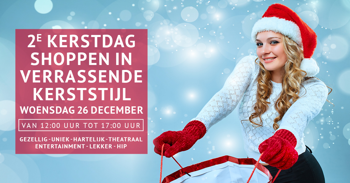 Facebook header eventpagina 1200 x 628 px Kerstevent De Klanderij Twentec 2e kerstdag 26 december 16 11 2018