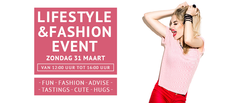 Facebook header 820 x 360 px Lifestyle Fashion Event De Klanderij Twentec 31 Maart 18 02 2019 2